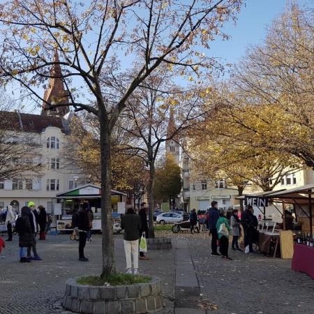 """Immer samstags zur """"Dicken Linda""""  - Einkaufen auf dem Kranoldmarkt"""